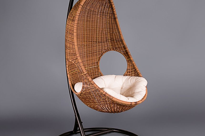 Large Wicker Hanging Chair  Chairs  Furniture on the Move