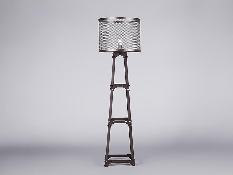 aviator chair replica ikea papasan key clamp floor lamp lighting | furniture on the move