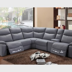 Pu Leather Sofa Bed Melbourne Kid Flip Open Ruby Corner Lounge With Recliner - Furniture Outlet
