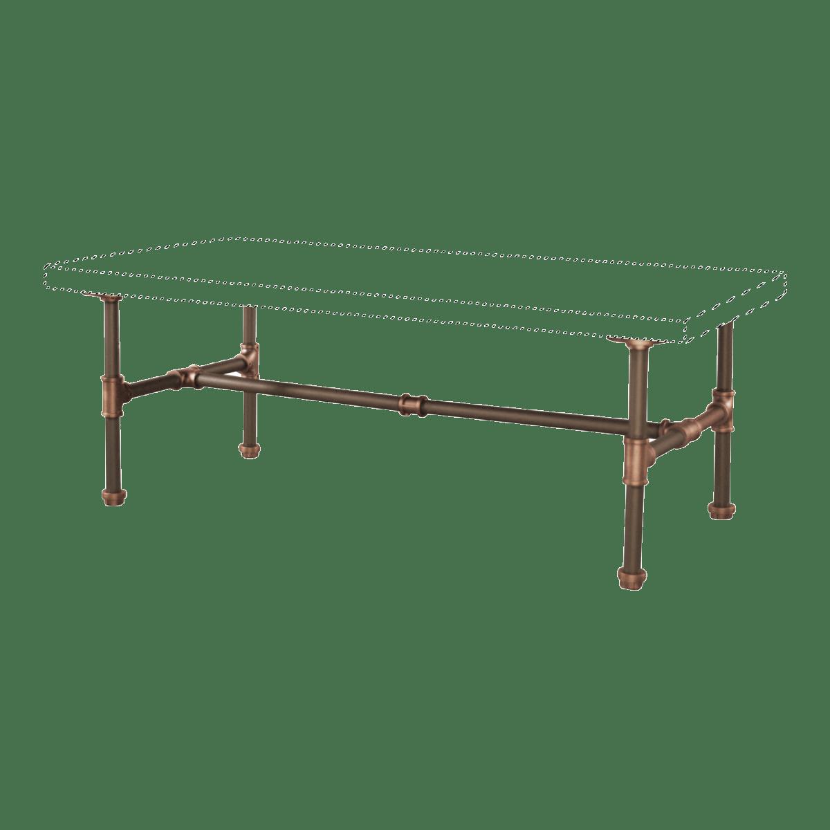 corvallis diy industrial coffee table