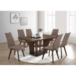 8 Seater Round Dining Table And Chairs Black Room Chair Covers Uk   6 Set