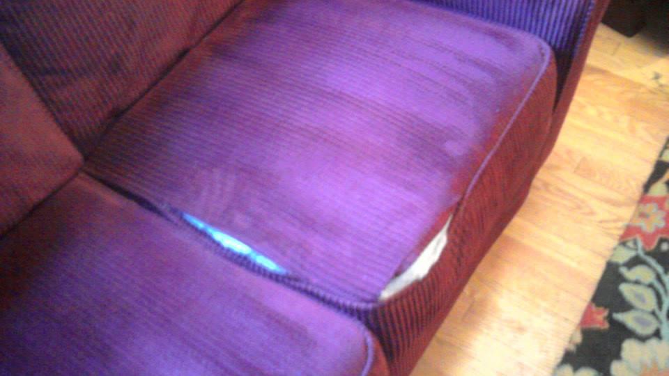 sofa cushion repair service cheap l shaped sofas uk stitched seam on ripped – furniturerepairman.com