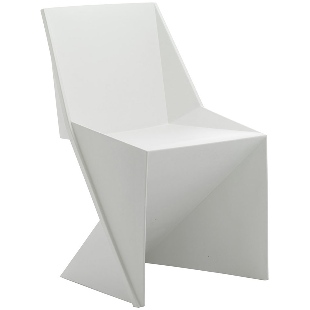 White Stackable Chairs Dynamic Freedom Visitor Stacking Chair White Polypropylene