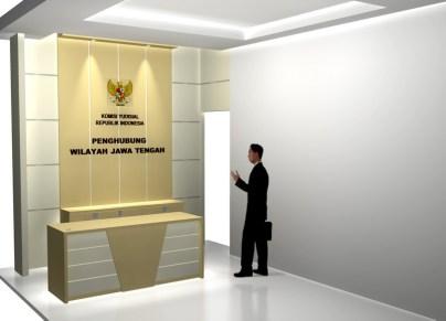 desain ruang lobi kantor terbaru 2016