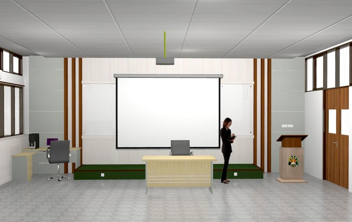 Interior Ruangan Kelas Taraf Internasional Part II
