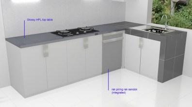 kitchen set bentuk l minimalis warna putih (7)