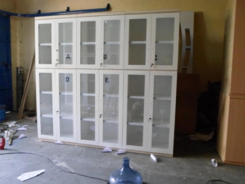 Wooden Office File Cabinetary  Furniture Semarang