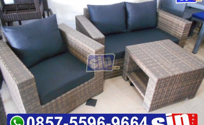 Pabrik Furniture Rotan Sintetis Bandung Jual Furniture