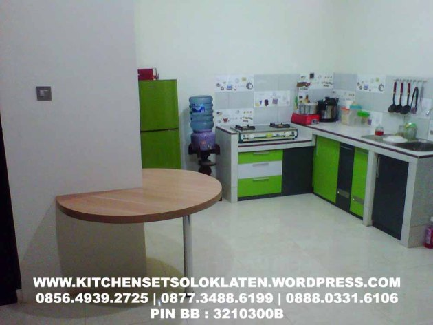 Kitchen Set Furniture Solo Klaten Kitchen Set