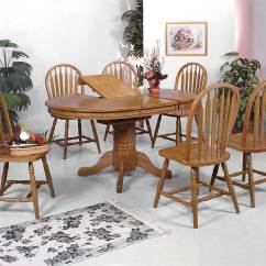 Dark Wooden Dining Room Chairs Orange Folding Chair Covers For Sale Crown Mark Oak Set Sets