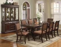 Crown Mark Merlot Dining Room Set Sets