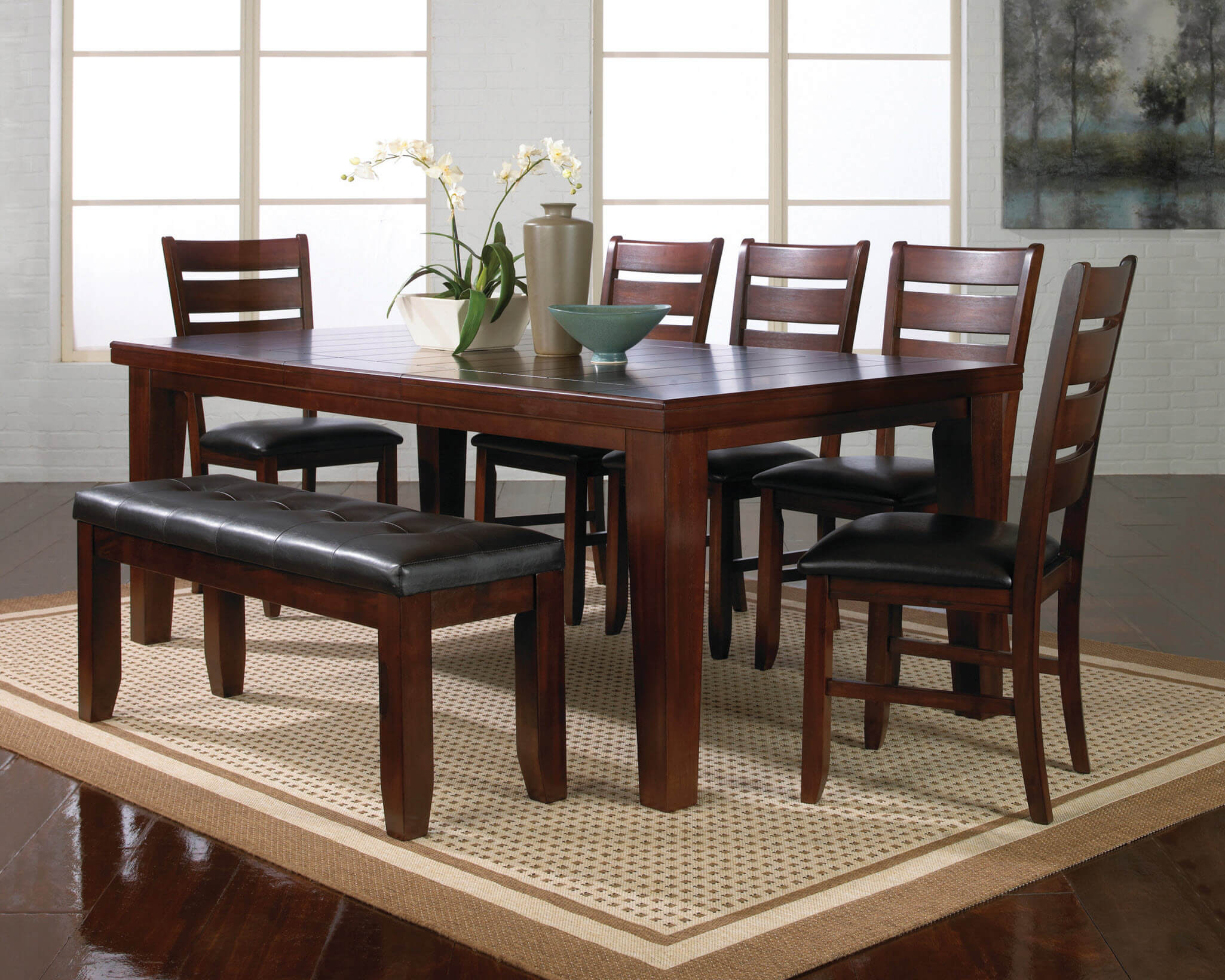 Dining Room Chairs Set Of 4 2152 Crown Mark Bardstown Dining Room Set