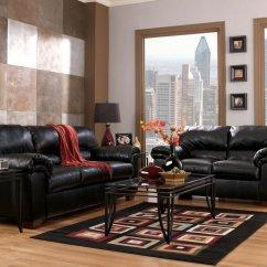 Ashley Furniture Commando Black Sofa Tan Sets And Loveseat