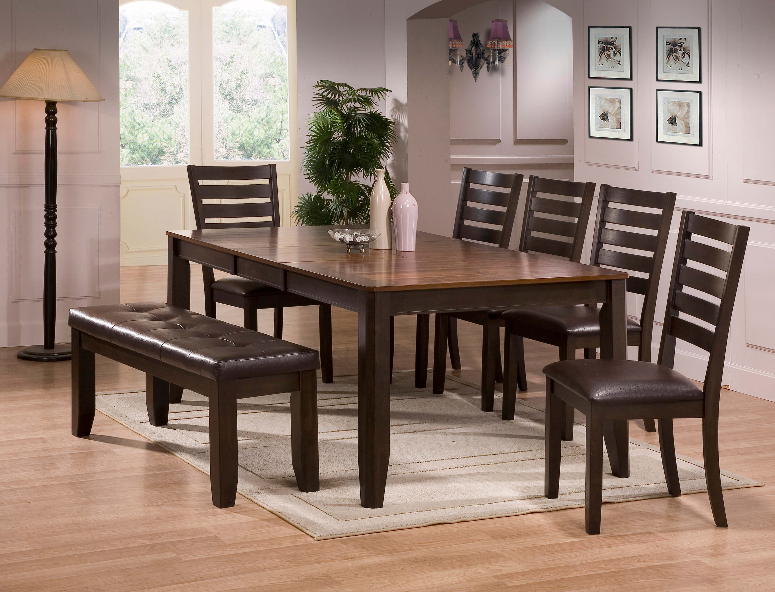 Dining Room Chair Sets 2328 Crown Mark Elliot Dining Set