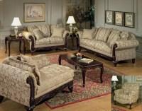 Clarissa Carmel Sofa and Loveseat | Fabric Living Room Sets