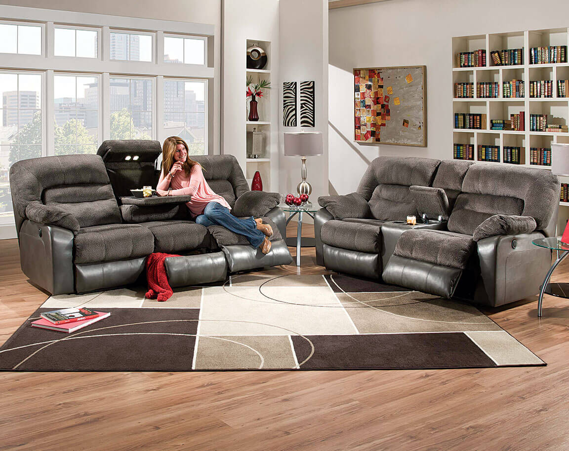 sofa and loveseat set up kursi klasik modern simmons tonto seal power reclining