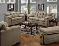 Luna Mineral Sofa and Loveseat | Fabric Living Room Sets