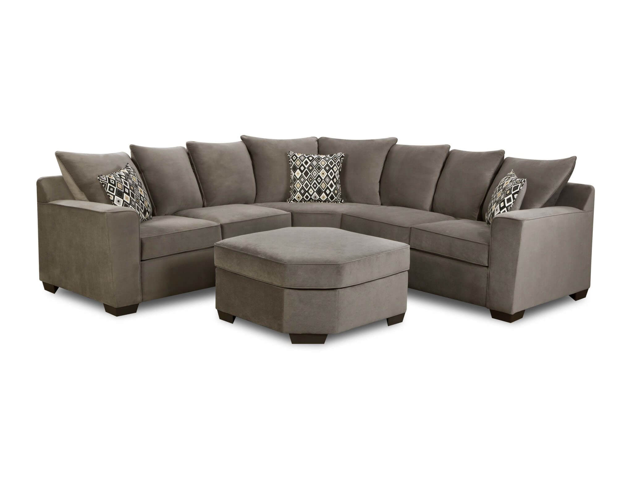 sofa bluebell chaise mission style leather simmons sectional roselawnlutheran