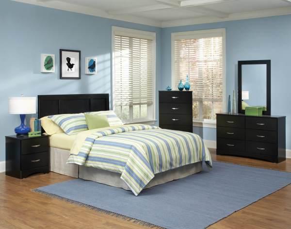Kith Jacob Black Bedroom Set Furniture Sets