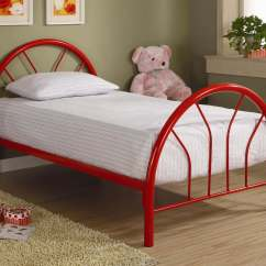Red Counter Height Dining Chairs Disney Bean Bag Brooklyn Twin Metal Bed | Kids' Beds