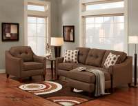 Stoked Chocolate Sofa/Chaise | Sectional Sofa Sets