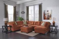 Delta City Rust Sectional | Sectional Sofa Sets
