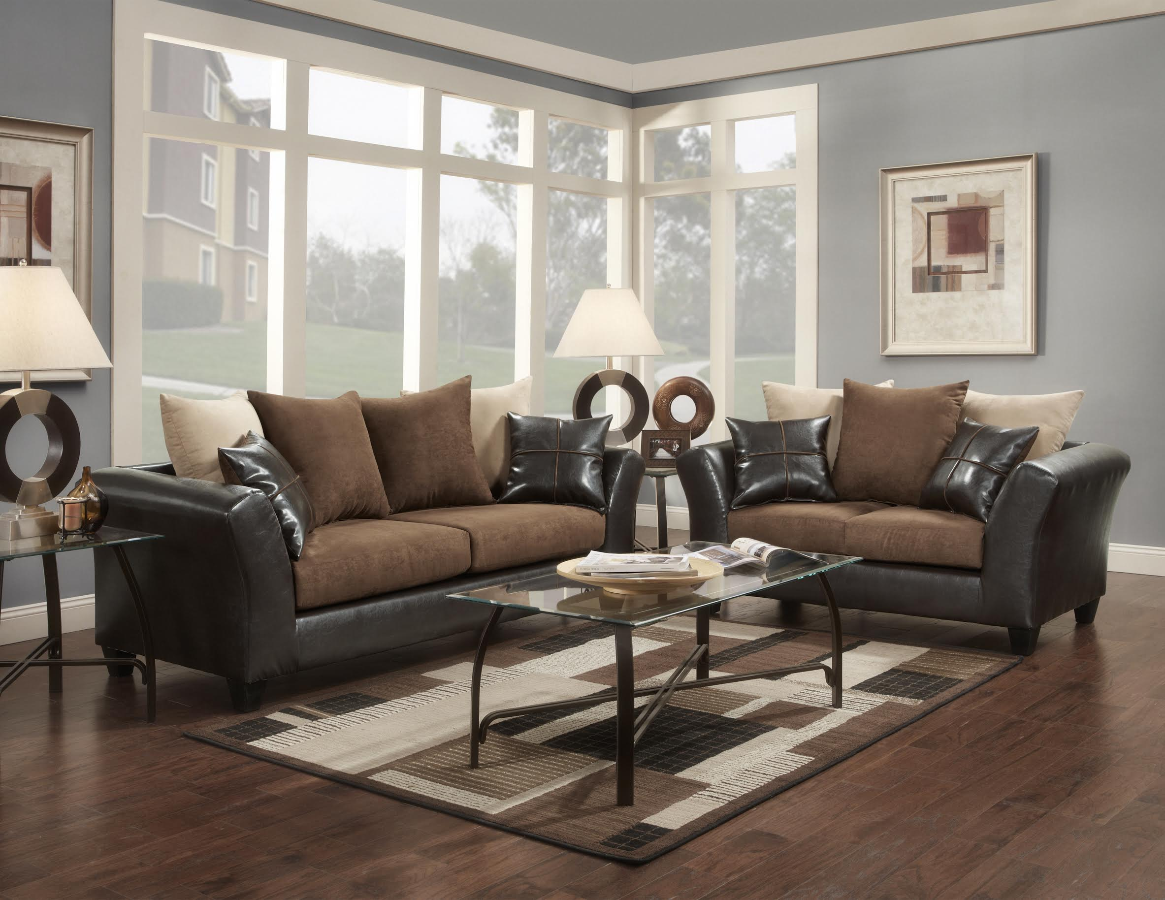 love sofa for sale whats a good bed flatsuede chocolate and loveseat living room sets