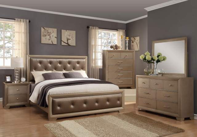 Fontaine Bedroom Set by Crown Mark