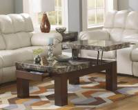 Lift Top Coffee Table - Faux Marble | Occasional Tables