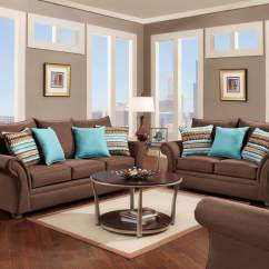 Leather Living Room Furniture Clearance Brown Sofa Ideas Jitterbug Cocoa And Loveseat   Fabric Sets