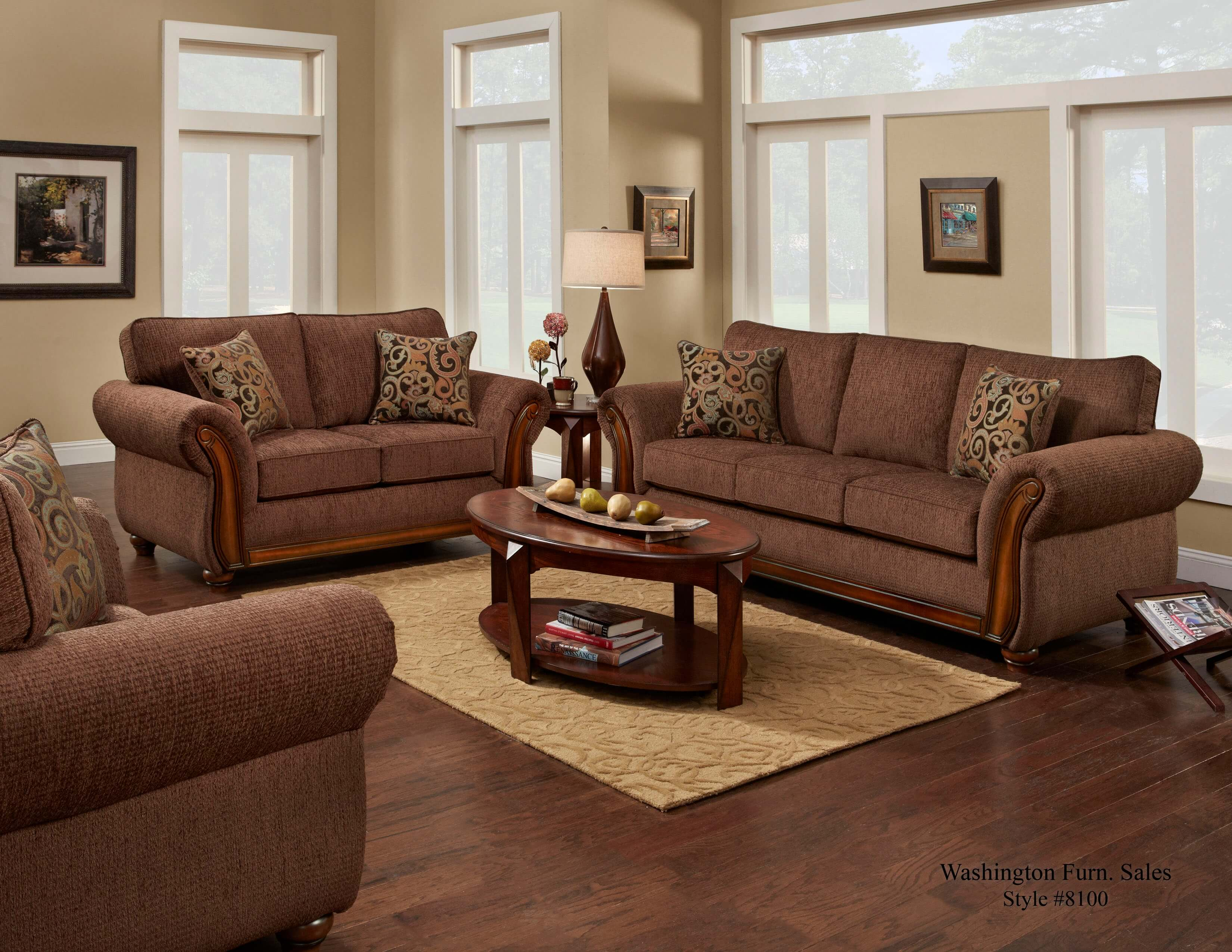 leather living room set clearance style designs delray fudge sofa and loveseat | fabric sets