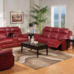 Red Leather Sofa Sets On Sale Pier 1 Imports Review Cortez Reclining And Glider Loveseat Set Living