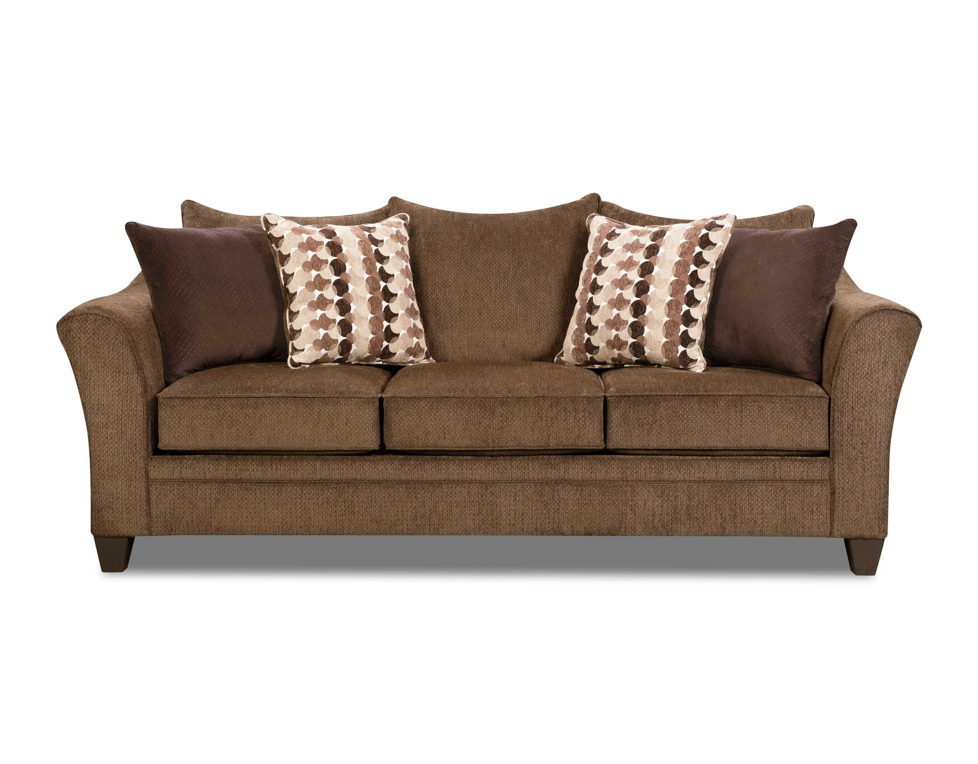 8642 transitional sectional sofa with chaise by albany chair single fusion platinum great american