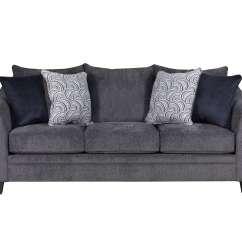 Albany Leather Sofa Tiendas De Espuma Para Sofas En Valencia Pewter And Loveseat By Simmons
