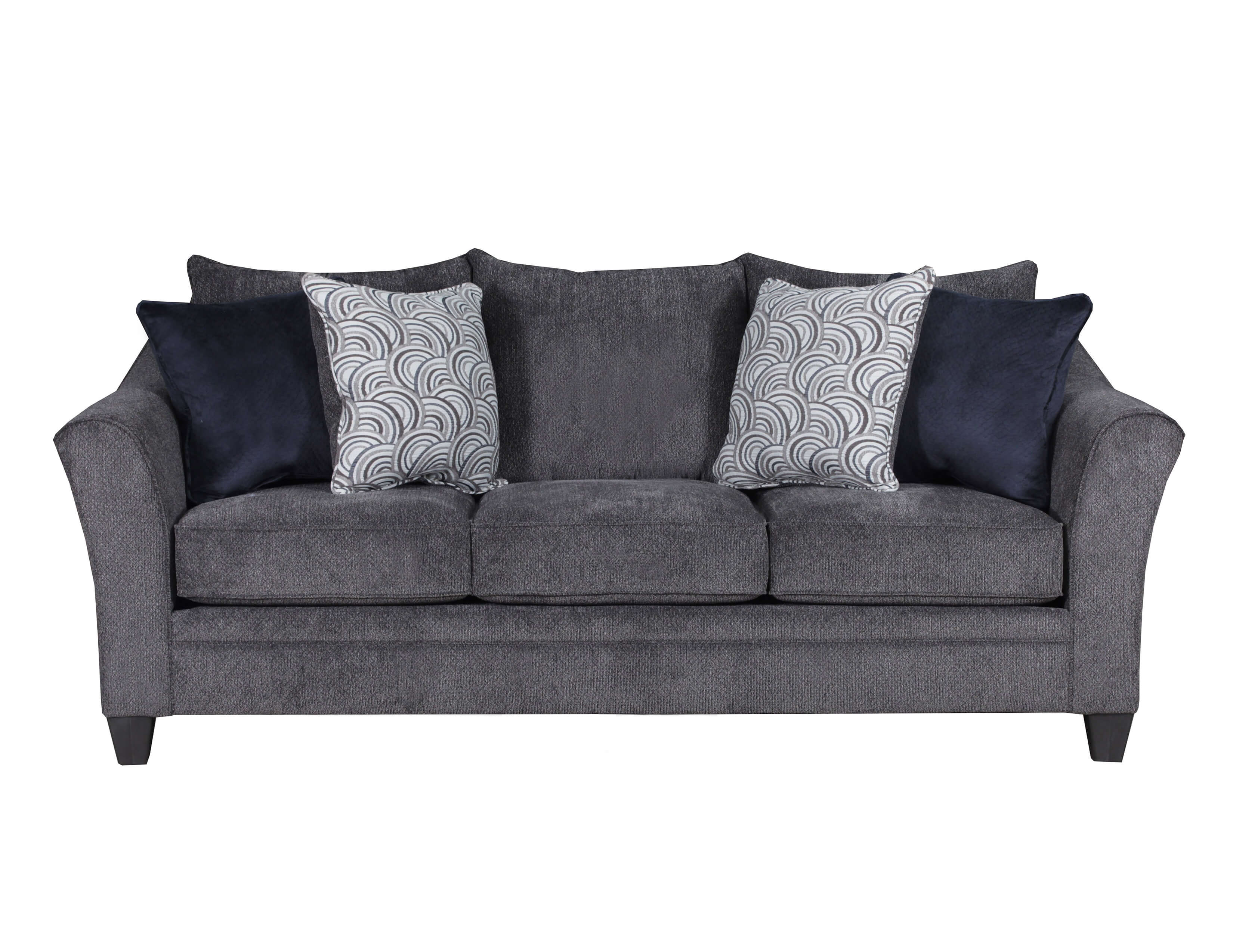 albany industries leather sofa american furniture bed pewter and loveseat by simmons
