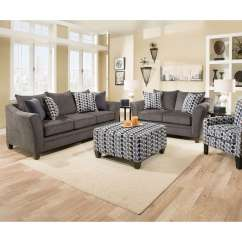Albany Industries Leather Sofa Grey Sale Simmons And Loveseat Upholstery Tokyo Pebble