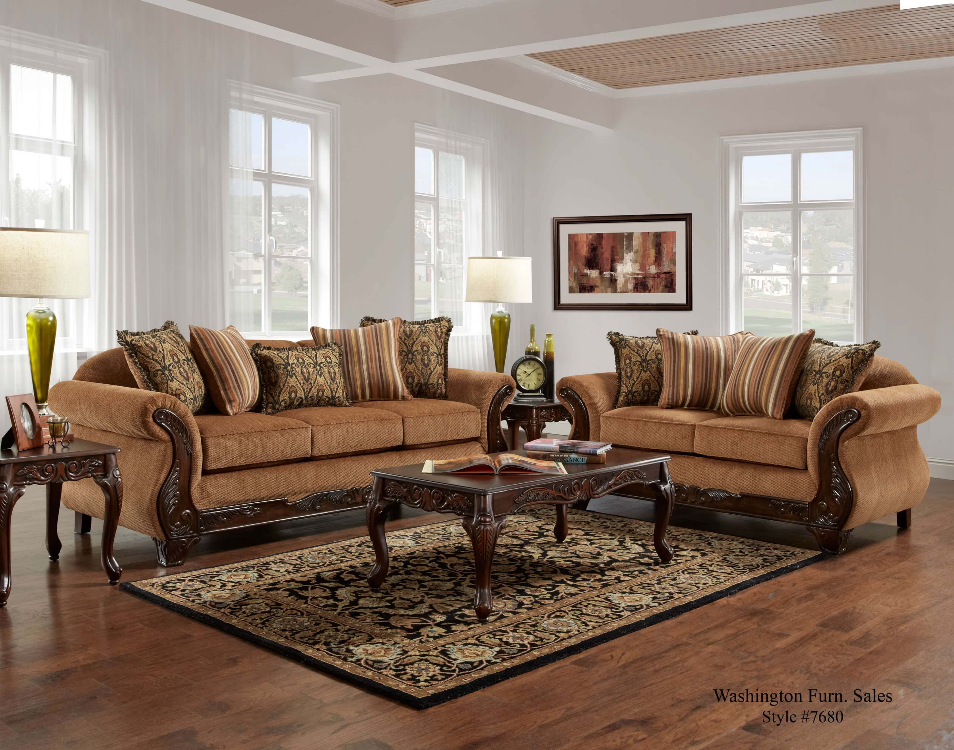 living room sofa photos coolest corner sofas florence gold and loveseat fabric