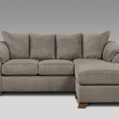 Grey Sofa Chaise Lounge Lane Rv Bed Sensations Sectional Sets