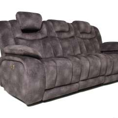 Cobra Dual Reclining Sofa Reviews How To Repair Scratches On Leather Terminator Power With Adjustable Headrest