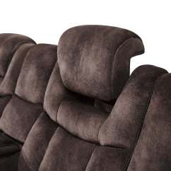 Simmons Blackjack Cocoa Reclining Sofa And Loveseat Gunstige Bettsofas Ch Electra Power With Led Lights