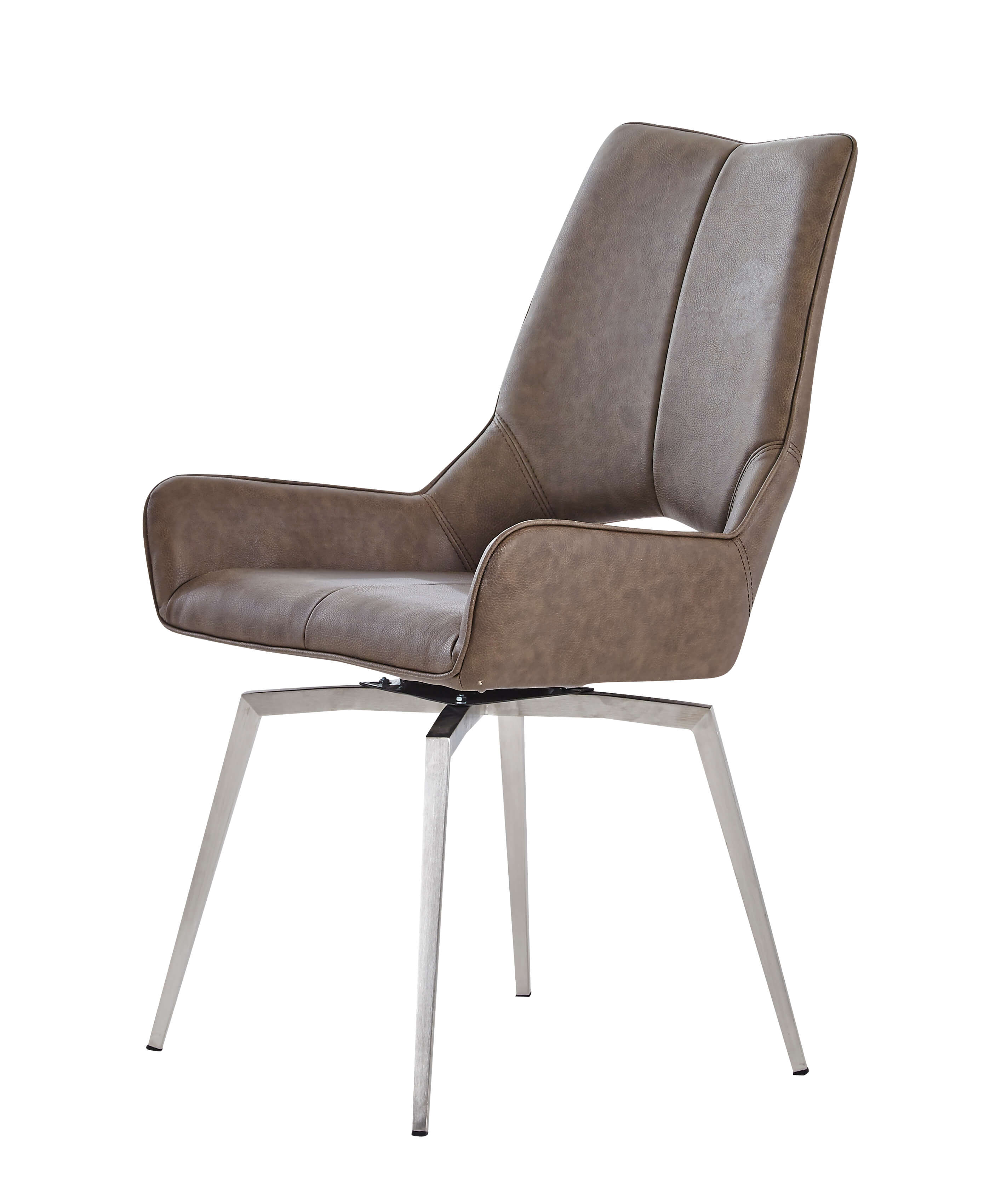 Contemporary Swivel Chairs Contemporary Marble Finish With White Swivel Chairs