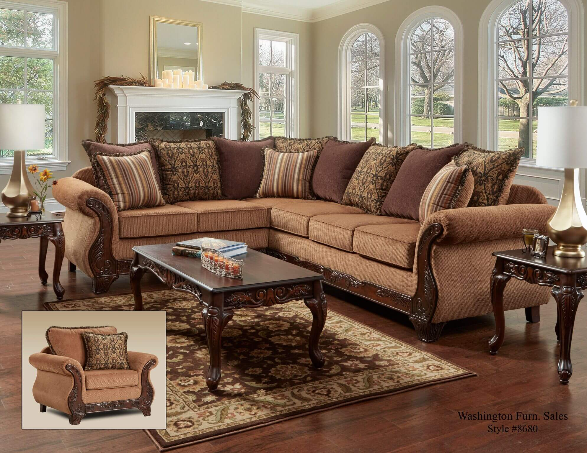 gold sectional sofa bed grey florence sets 8680 discontinued