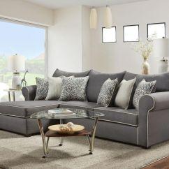 Sofa Loveseat Sets Sale Dania Reviews Jitterbug Gray Sectional |
