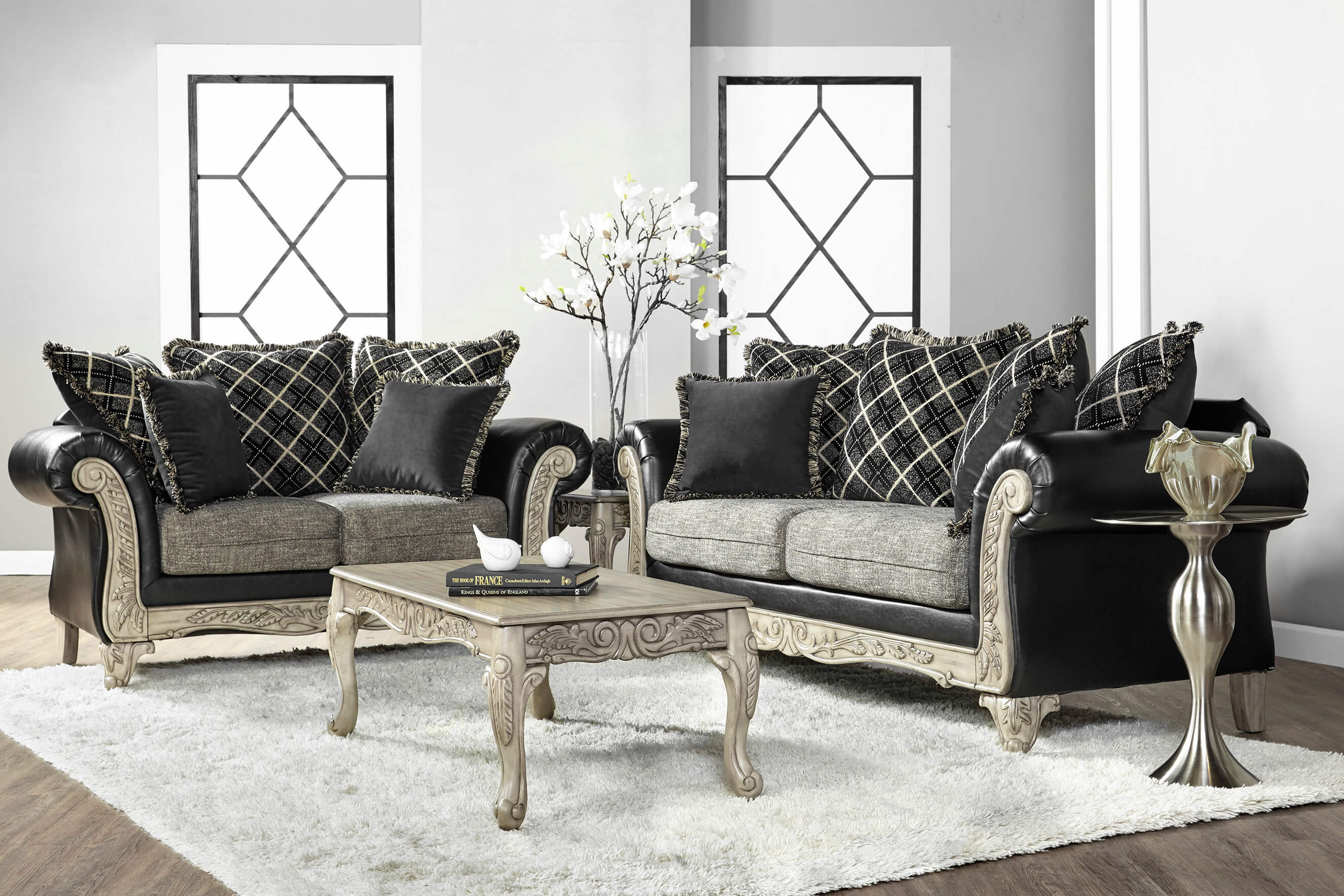 cheap sofa warehouse newcastle chesterfield velvet shimmer pewter sectional from affordable furniture