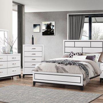 ashley bostwick shoals white bedroom