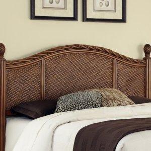 Marco Island Cinnamon King/California King Headboard by Home Styles
