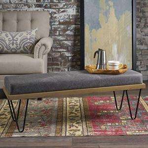 Christopher Knight Home Elaina Bench Perfect for Dining Table or Entry Way Danish