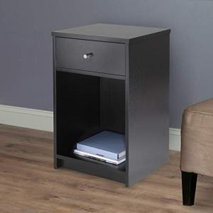 Winsome Squamish Night Stand, Black
