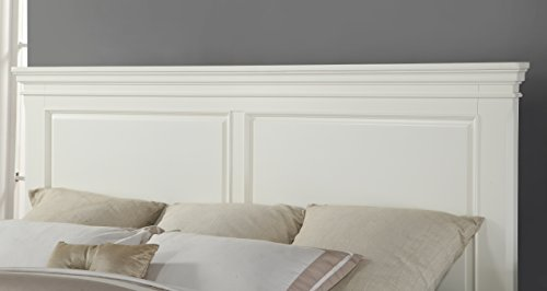 Roundhill Furniture Bedroom Furniture Bed Dresser King White Package deal Dimensions: 88.zero x 82.zero x 57.zero inches