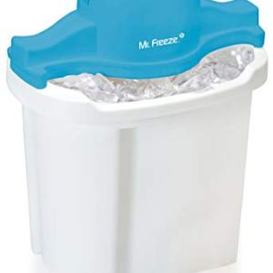 MaxiMatic EIM-404 Mr Freeze Electric Ice Cream Maker, 4-Quart, White